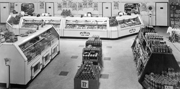historic Publix store interior