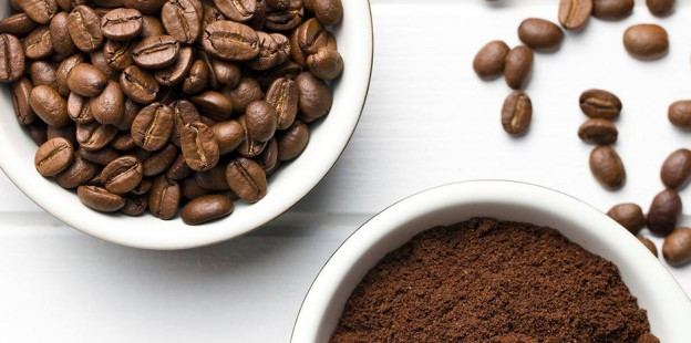 bowls of coffee beans