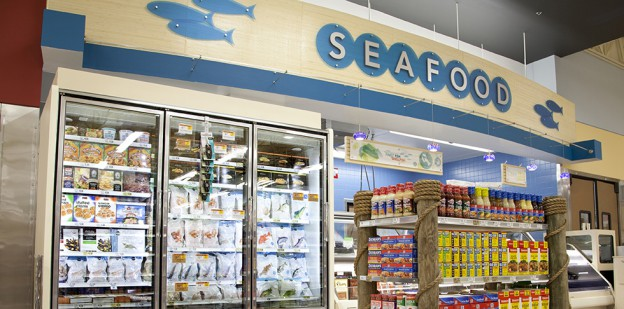 Store 1414, Nokomis, Florida, Lakeland Division, Open November 14, 2013 Seafood, frozen seafood, overall seafood