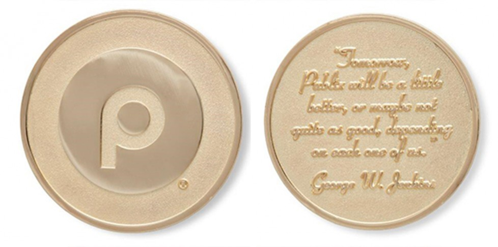 Mr. George Gold Coin: Rusty Spencer