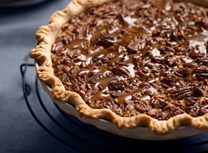 Pecan Pie with Flaky Piecrust