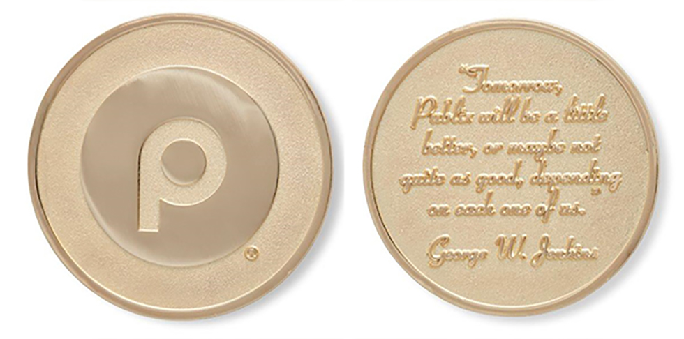 Mr. George Gold Coin: Alfred Greer