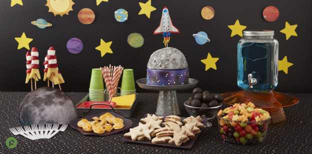 Blast Off With This Space Party