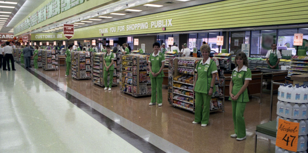 Back in Time: Publix in the 1980s