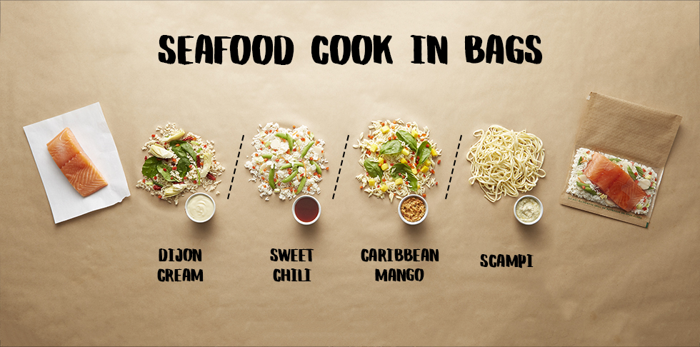 Try Our Seafood Cook-In-Bags Tonight!