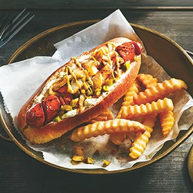 Seattle Style Hot Dogs