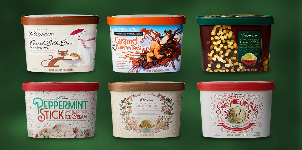 New Limited Edition Holiday Ice Cream Flavors