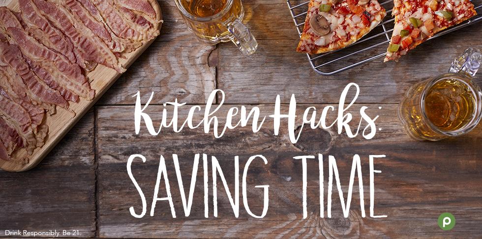 Kitchen Hacks: Saving Time