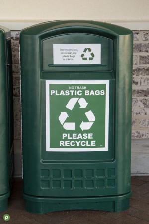 Publix Recycing Plastic Bin