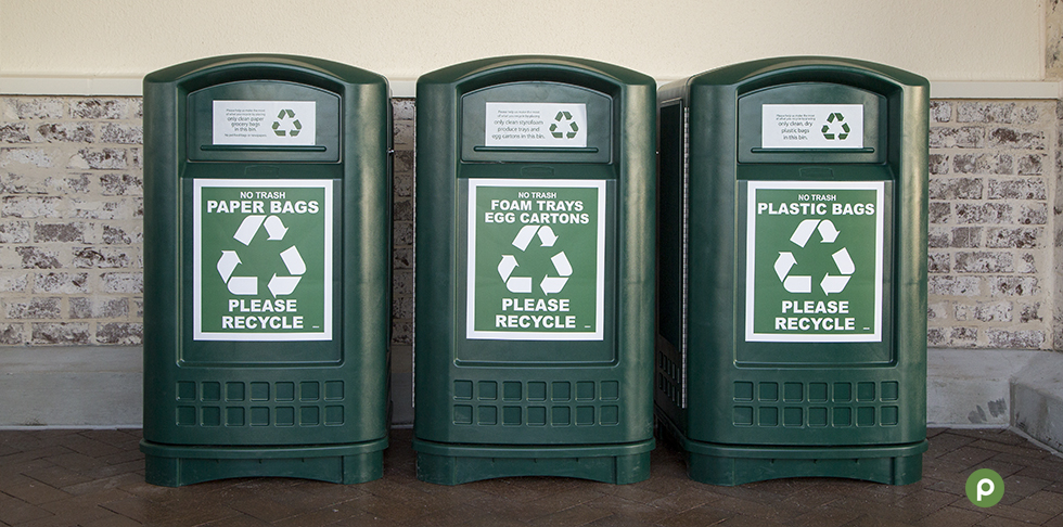 Recycling your Plastic Bags at Publix
