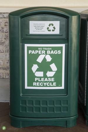 Publix Recycling Paper Bin