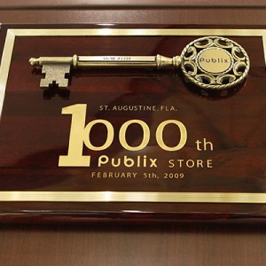 1000th Publix Store Opening Key