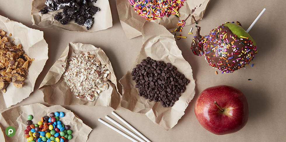 Dipped Apple Toppings