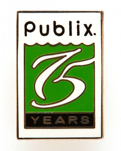 Publix 75th Anniversary Pin
