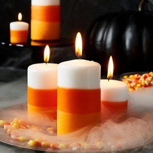 Publix Halloween Craft - Candle Corn