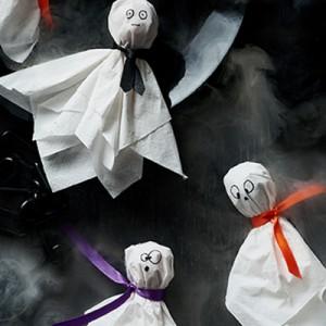 Publix Halloween Craft - Ghost Pop