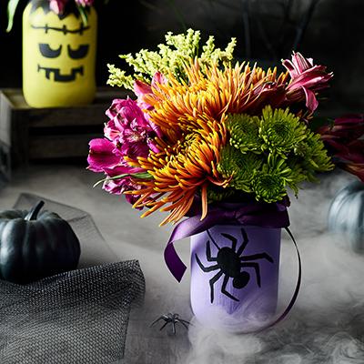 Publix Halloween Craft - Jar-o'-Lantern