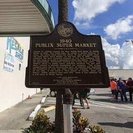 1940 Publix Historical Marker