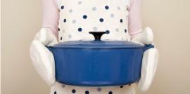 Big Blue Casserole Dish