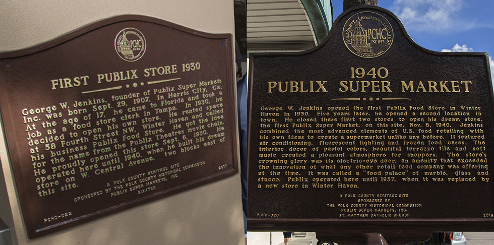Historical Signs Mark the Spot