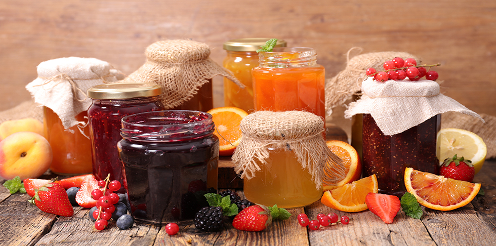 different kinds of jam