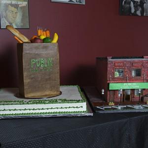 Publix Cake_Historical Building_Publix Brown Bag