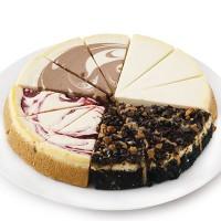 Variety Wheel Cheesecake