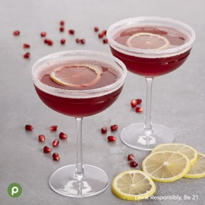 Fizzy Pom-Cran Martini