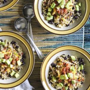 Salpicon Style Quinoa Bowl