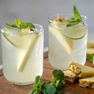 Pineapple Mojito Sangria