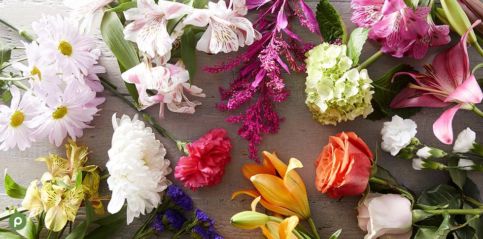Publix Flowers On Table