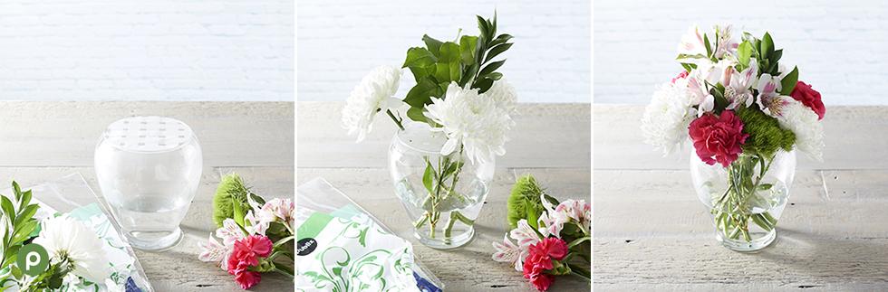 Round Floral Arrangement