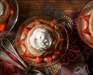 Simple Chocolate-Hazelnut Mousse