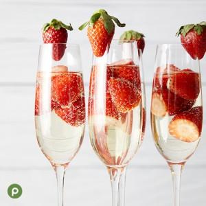 Strawberry-Peach Prosecco