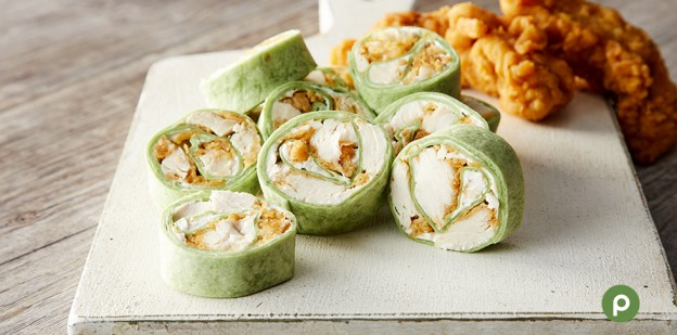 Chicken Tender Pinwheel- Featured Image