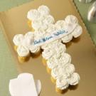 Cross Pull Apart Cake