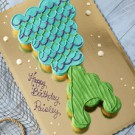 Mermaid Tail Pull Apart Cake