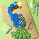 Peacock Pull Apart Cake