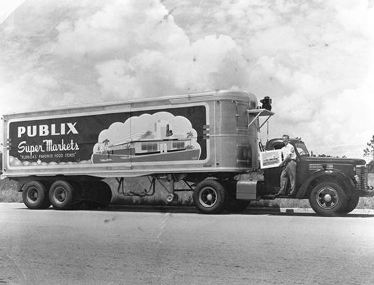 Publix History Truck