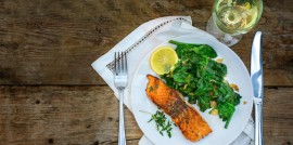 Salmon and Wine - featured
