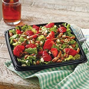 Strawberry-Glazed Pecan Salad
