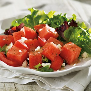 Watermelon and Summer Tomato Salad