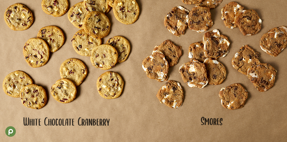 White Chocolate Cranberry Cookies and Smores Cookies