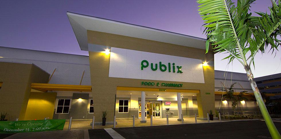 Publix store front store 1236