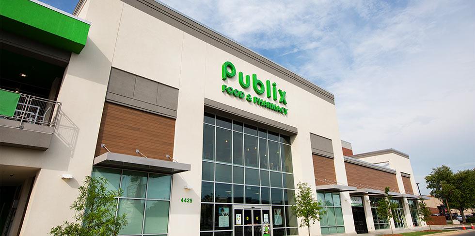 Publix store front store 1518