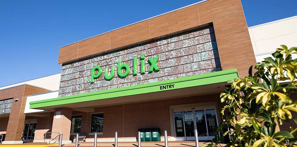 Publix store front store 1630