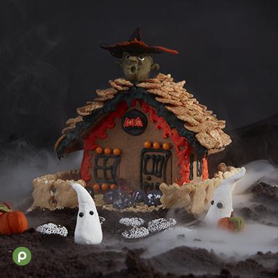 Halloween Ginger Bread Houses
