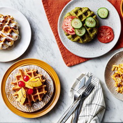 5 Delicious Recipes for Your Waffle Iron