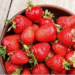 At Season's Peak: Strawberries