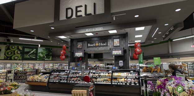 deli department counter